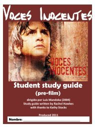 Student study guide - Routes Into Languages