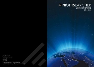 + Download Catalogue - Nightsearcher Ltd