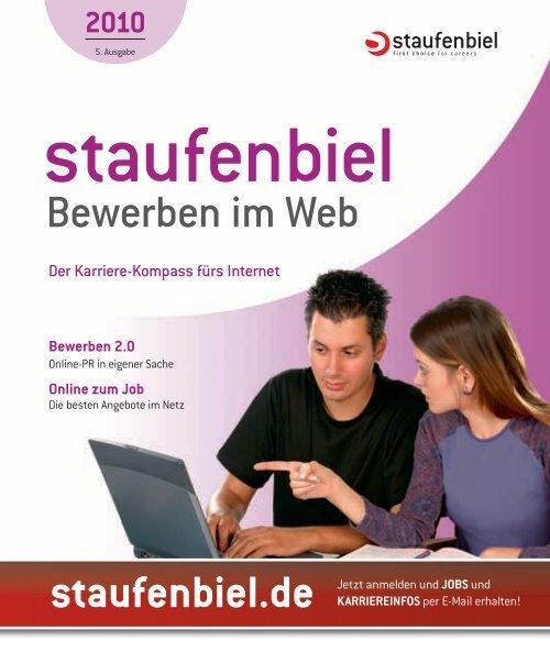 Bewerben im Web - Staufenbiel.de