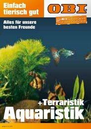 Aquaristik Aquarien -  OBI Baumarkt Franken