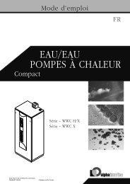 PomPes à chaleur eau/eau - Dalcalor.ch