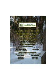 Guide Automne-Hiver 2010-2011 pour site - Ville de Donnacona