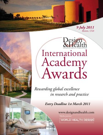 1 March 2011 - the International Academy of Design and Health