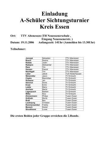TTV Altenessen - Siegelonline.de