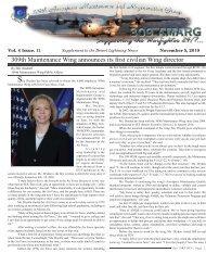 Supplement November 2010.indd - Davis-Monthan Air Force Base