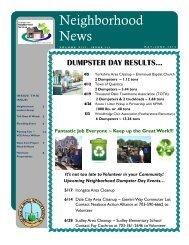 Neighborhood News - May-June 2014