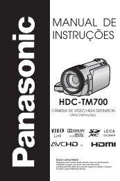 HDC-TM700.pdf - Panasonic