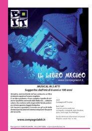 2012 03 LIBRO MAGICO BIT.indd - Agenzia di Spettacolo ...