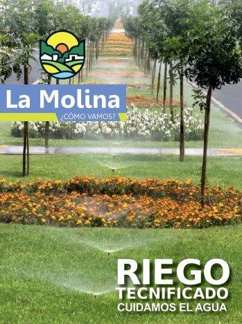 cuidamos el agua - Municipalidad de La Molina