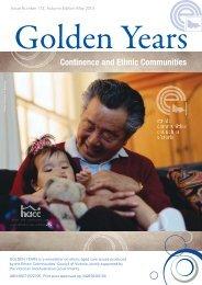ECCV Golden Years.indd - Ethnic Communities Council of Victoria