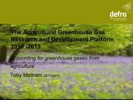 Accounting for the UK's Greenhouse Gases - ecow.co.uk