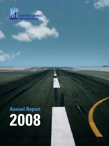 Annual report 2008 - aci.aero