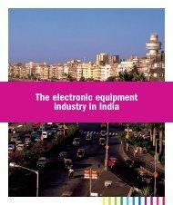 in India The electronic equipment industry in India - Teknikföretagen