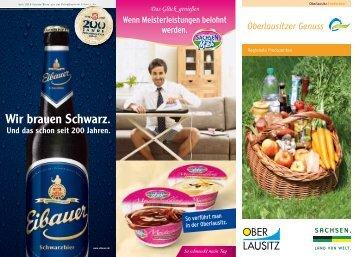 """Download PDF Broschüre """"Oberlausitzer Genuss"""""""