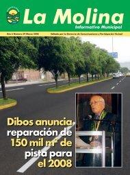 caratula marzo.indd - Municipalidad de La Molina