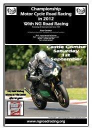 Championship Motor Cycle Road Racing in 2012 With NG Road ...