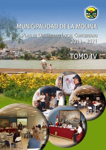 TOMO IV - Municipalidad de La Molina