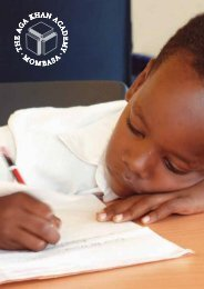 Mombasa - the Aga Khan Schools