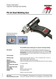 PS-1K Stud Welding Gun - Soyer