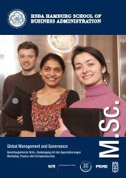 Global Management and Governance - Versammlung eines ...