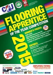 CFA Apprentice of the Year 2015 Entry Form