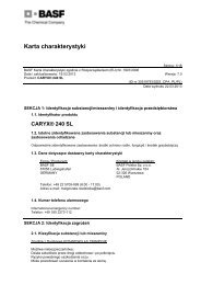 Caryx 240SL - BASF Polska