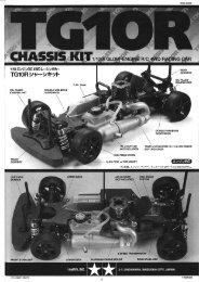 Tamiya TG10R Manual - Wheelsacademy.info