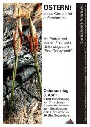 Flyer zu Ostern 2012 - Chrischona Amriswil