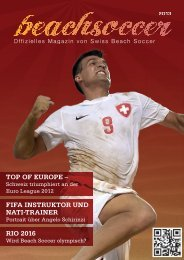 top of europe - Swiss Beach Soccer