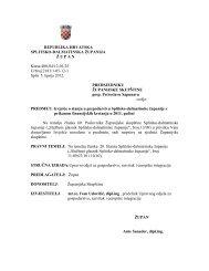Izvješće o stanju u gospodarstvu Splitsko-dalmatinske županije
