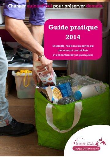Guide pratique 2013 - Service Déchets