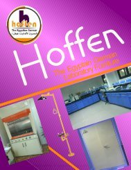 The Egyptain German Laboratory Furniture - Hoffen Egypt