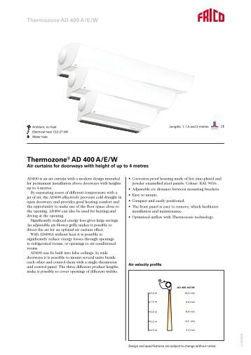 thermozone ac 400 wac 400 wiring diagrams ac401 and thermozone® ad 400 a e w tormax danmark a s