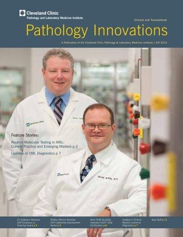 Pathology Innovations - Cleveland Clinic Laboratories > Home