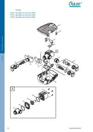 - & B A M 40 Produkt 50734 AquaMax Eco ... - Oase Teichbau