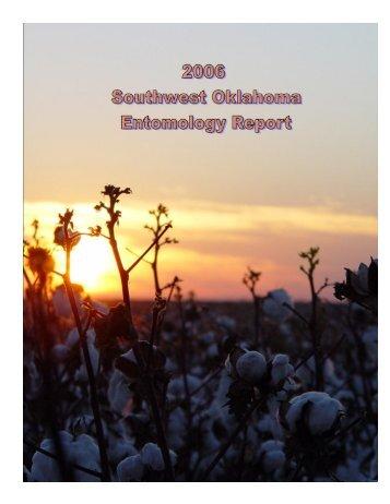 2006 - Oklahoma Crop Variety Trials - Oklahoma State University