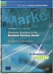 E-Business in the Business Services Sector: Key ... - Attitudeweb