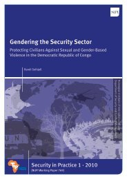 Gendering the Security Sector - Nupi