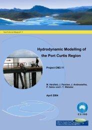 Hydrodynamic Modelling of the Port Curtis Region - OzCoasts