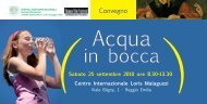 Convegno Acqua.indd - Azienda USL di Reggio Emilia