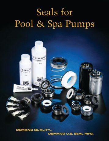 Seals for Pool & Spa Pumps - US Seal Mfg.
