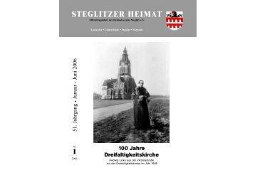 STEGLITZER HEIMAT - Heimatverein Steglitz