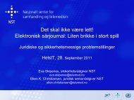 Bruk av elektroniske verktøy i samhandlingen mellom helsepersonell