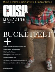 CUSP Magazine : Fall Edition 2014