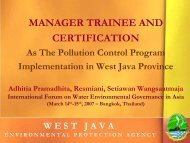 MANAGER TRAINEE AND CERTIFICATION - WEPA