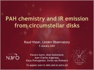 PAH chemistry and IR emission from circumstellar disks