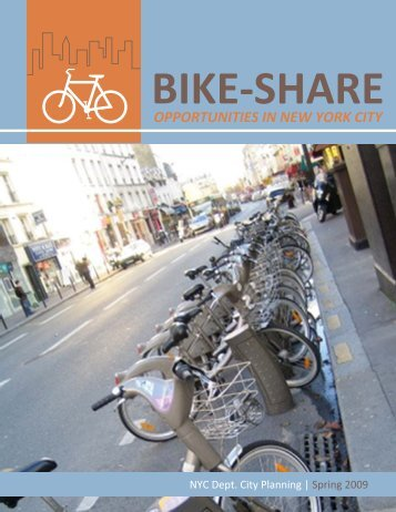Bike-Share Opportunities in New York City (Complete) - NYC.gov