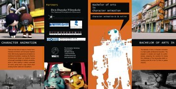 Brochure The Animation Workshop (pdf) - VIA University College