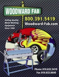 Phone 810.632.5419 Fax 810.632.6640 - Woodward Fab