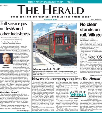 The Herald - Carolina Weekly Newspapers